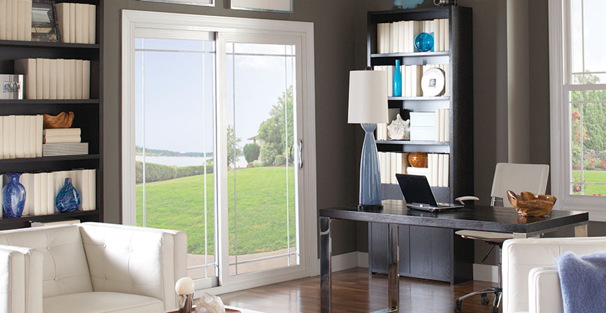 Promenade Vinyl Patio Door From Alside Pittsburgh Pa