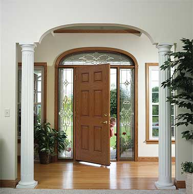 Provia fiberglass and steel entry doors pittsburgh pa for Exterior doors and windows