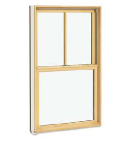 Wood Ultrex Double Hung Windows