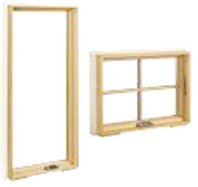 Wood Ultrex Awning and Casement Windows