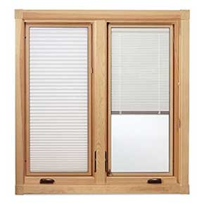 System 3 between the Glass Blinds & Shades